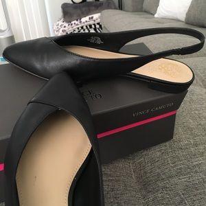 4cbb569b99e Vince Camuto Shoes - Vince Camuto Jasenia sling back flat